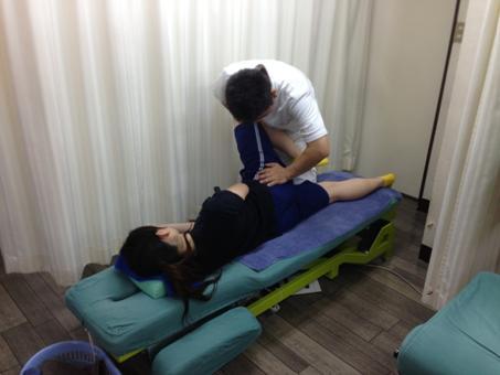 股関節の整復